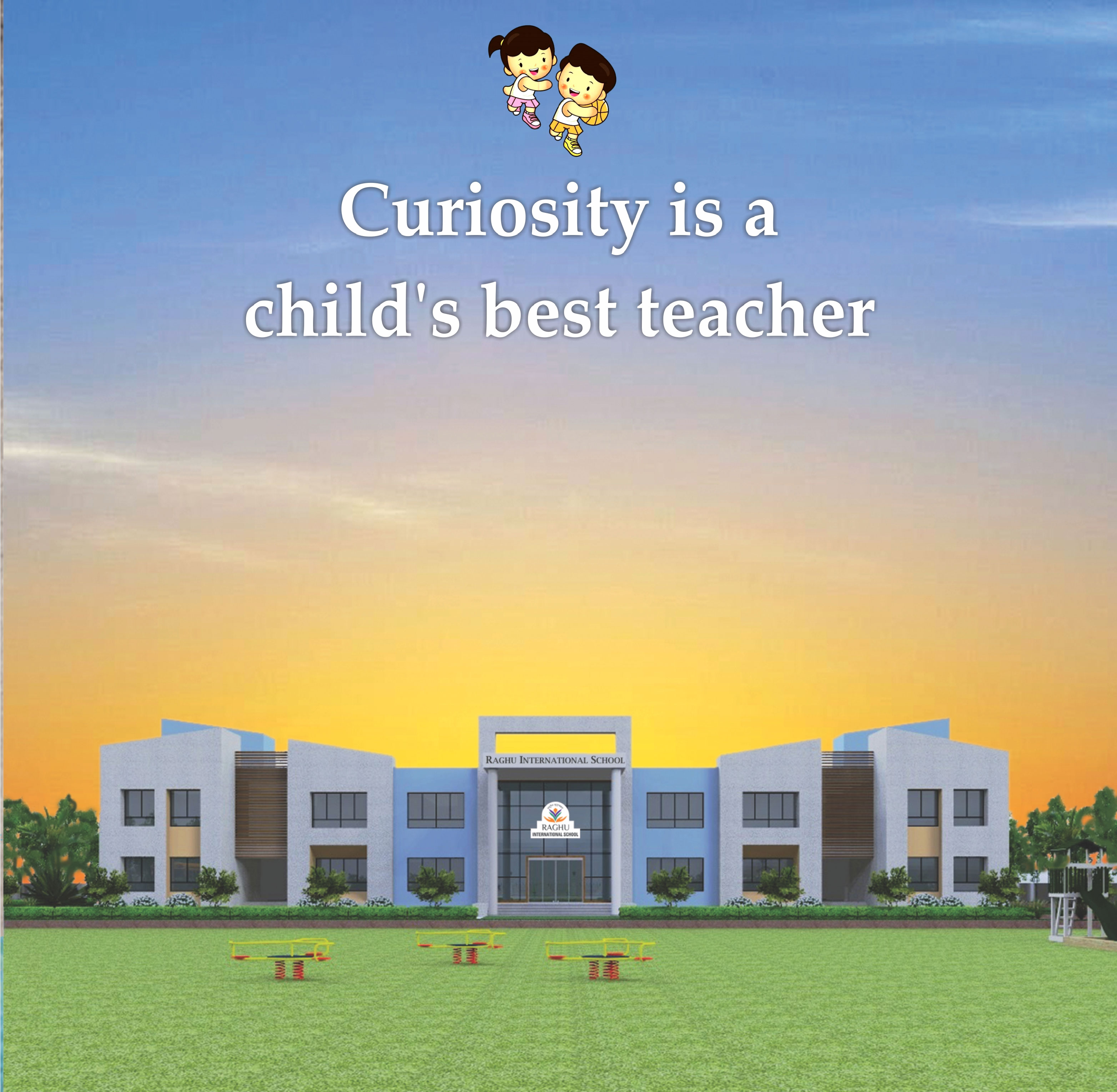 Raghu International School infrastrucur