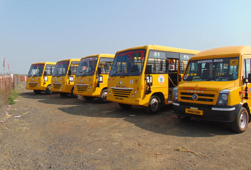 raghu-school-bus